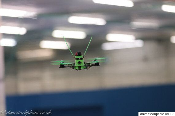 London Hosts Its First Indoor 'Fast And Furious-Style' FPV Drone Racing
