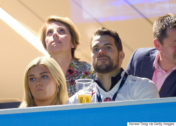 Henry Cavill Snuggles Up To Blonde Student Tara King As Sources Claim They're