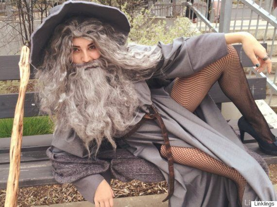 This Girl Dressed Up As Sexy Gandalf For Her Last Day At School And Now The Internet Loves