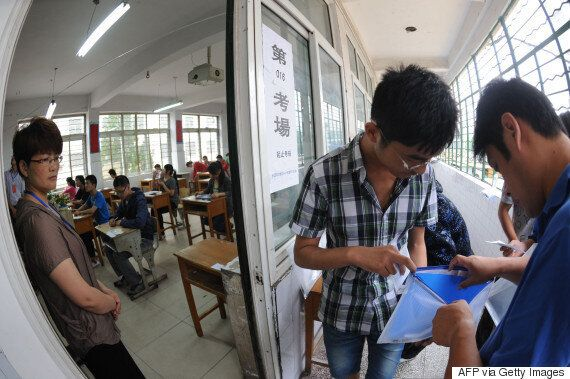 China Is Using Drones To Catch Cheating Students In