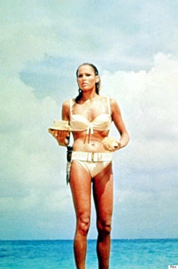 Strictly Come Dancing's Kristina Rihanoff Swaps Sequins For A Bikini To Pose As Bond Girl Ursula