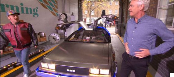 Keith Lemon Just Dropped The F-Bomb On 'This Morning' During 'Back To the Future' Tribute