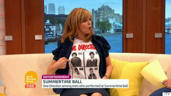Kate Garraway Flashes Susanna Reid And Ben Shephard On 'Good Morning Britain'... But Only To Reveal One...