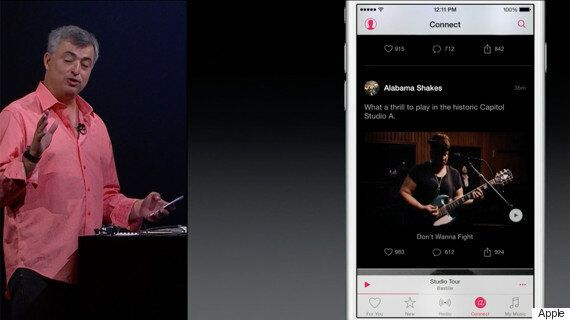 Apple Music Unveiled At WWDC