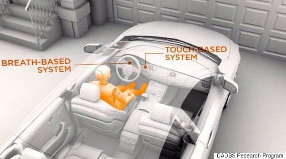US Unveils Car That Won't Start When Driver Is