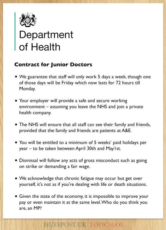 NHS Junior Doctor Contract