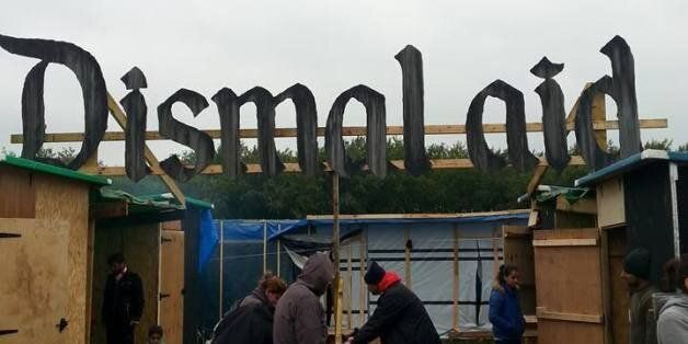 'Dismalaid Bemusement Park' Sign Stolen By Aid Workers To Be 'Flogged On