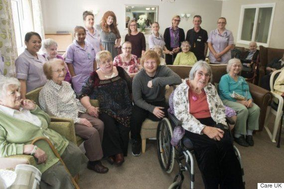 Ed Sheeran Opens A Care Home (And The Pictures Will Melt Your