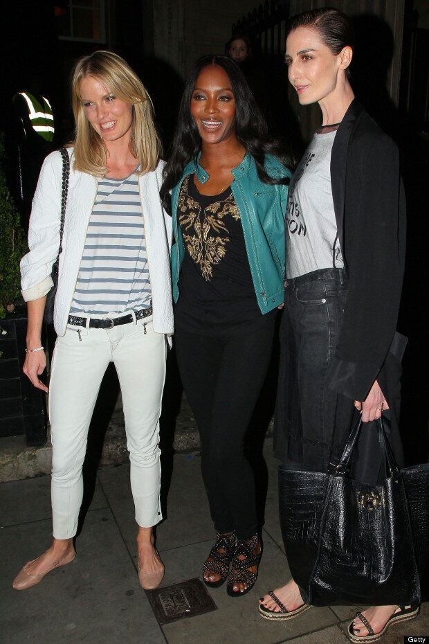 Supermodels Assemble! Naomi Campbell, Erin O'Connor And