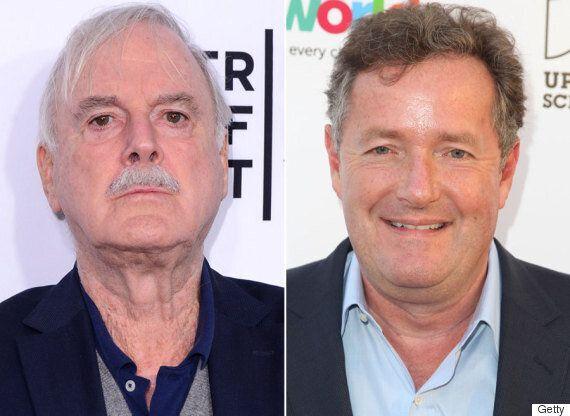John Cleese Continues Piers Morgan Feud, Branding Him A 'Third