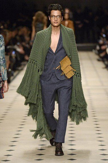 Burberry Prorsum Winter Collection 2015: A Nostalgic View of the 60s Made for