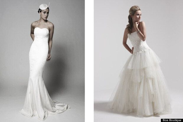 Wedding Dresses: Floor-Sweeping &Amp;