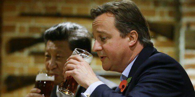 David Cameron: I'll have what Xi's