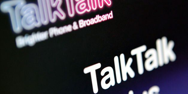 File photo dated 02/02/11 of the TalkTalk logo, as police are investigating a