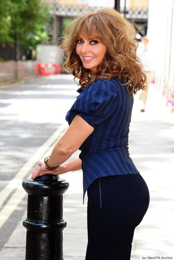 Carol Vorderman Reveals She Can Balance A Pint Of Beer On Her