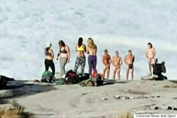 Naked Malaysia Mountain Photo Of Eleanor Hawkins Posted By 'Halfwit Canadian', Says Briton's