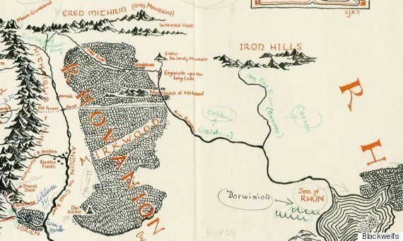 'Lord Of The Rings' Map Annotated By Tolkien Found Inside Illustrator's Copy, Reveals Details Of