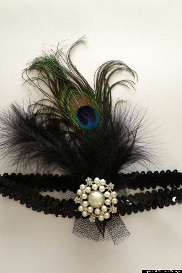 How To Make A 1920s Headband, By Hope &Amp; Glorious