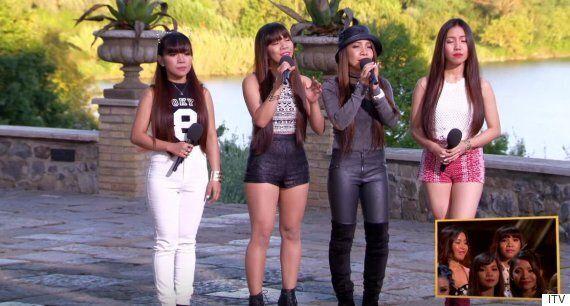 'X Factor': 4th Impact Stun Cheryl Fernandez-Versini With Rihanna 'Love The Way You Lie' Cover