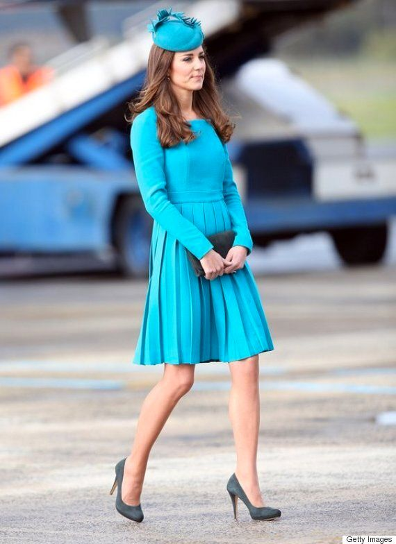 How The Duchess Of Cambridge Wears High Heels All