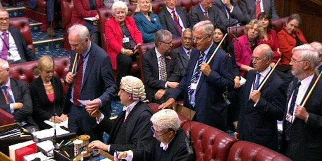 The results of the vote by the House of Lords to an amendment put down by independent crossbench peer...