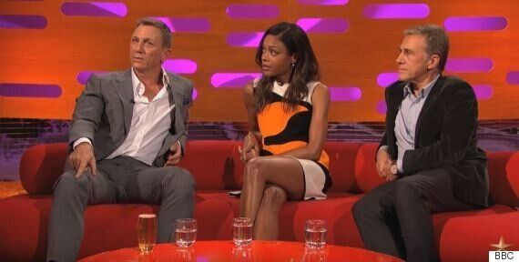 Daniel Craig's 'Graham Norton Show' Appearance Has Twitter Asking Him To Quit 'Manspreading' (But He's...