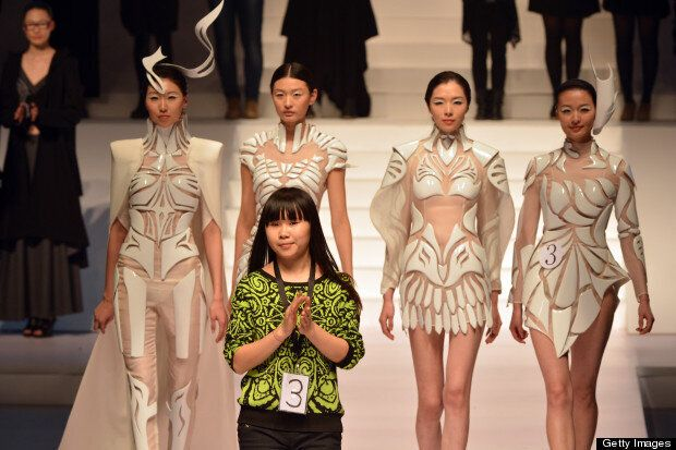 China Fashion Week A W 13 Young Fashion Designers Contest Huffpost Uk