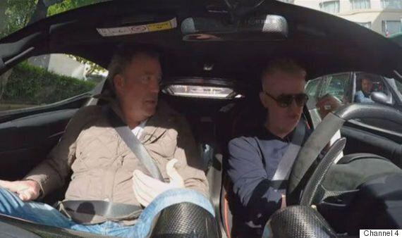 Jeremy Clarkson Makes TV Return On 'TFI Friday' Alongside Chris Evans In 'Top Gear' Spoof