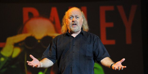 Bill Bailey performs on stage at the Kew The Music concert at Kew Gardens on July 20, 2014 in London,...