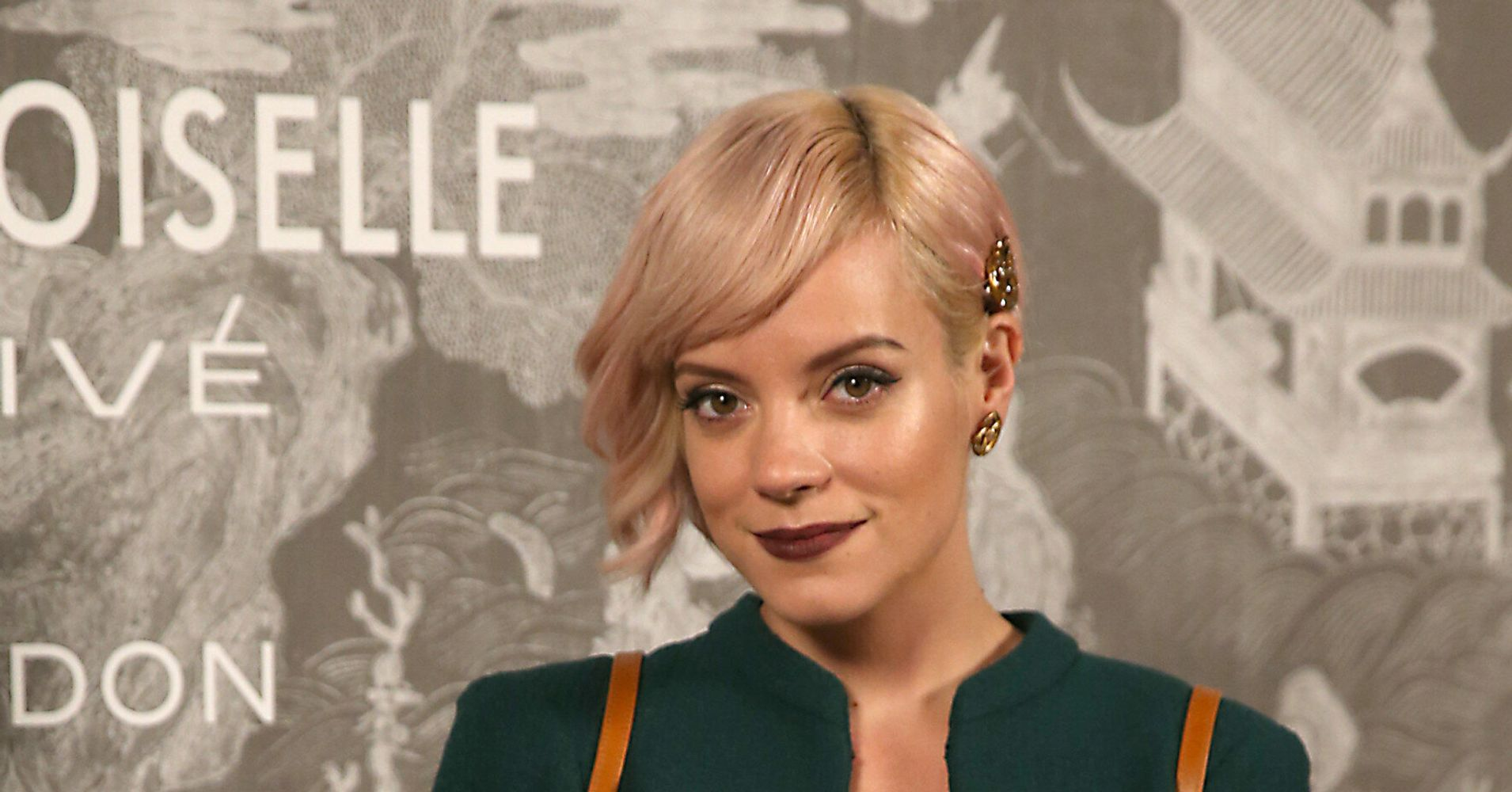 5715822293781f Lily Allen Reveals Touching Pan Song, Something's Not Right, Was Written In  Honour Of Stillborn Son