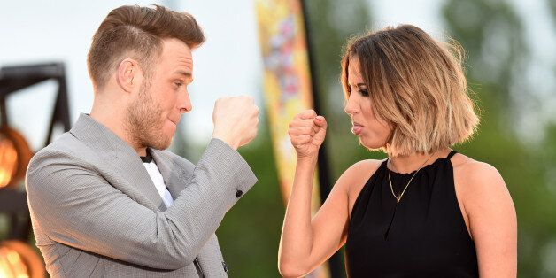 Olly Murs and Caroline