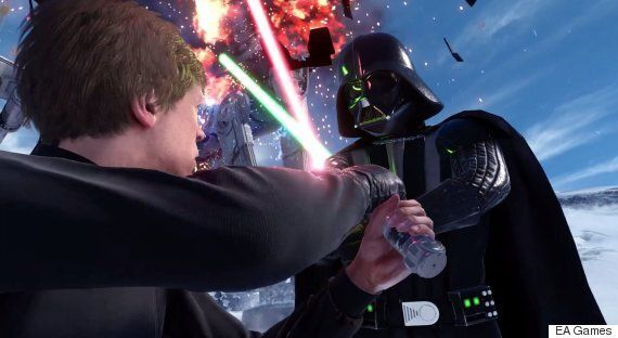 The Star Wars: Battlefront Gameplay Trailer Is Breathtakingly