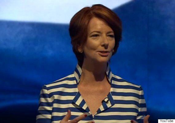 Julia Gillard Tells BBC 'Newsnight' Misogynistic Insults Are A 'Convenient Weapon' Against Female