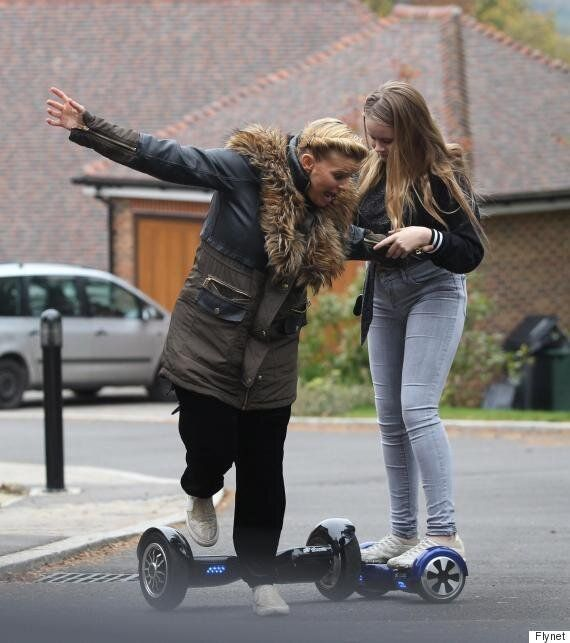 Kerry Katona Takes A Trip On A Hoverboard And The Resulting Pics Are All Sorts Of