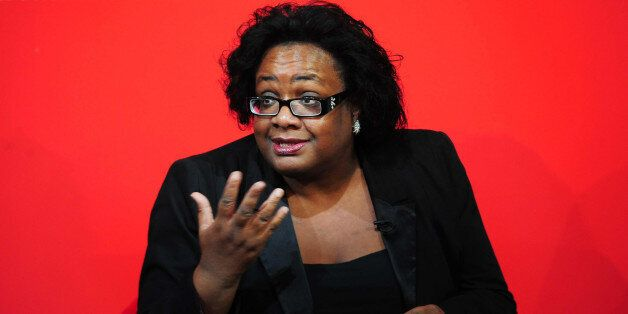 Labour leadership hopeful Diane Abbott during the Labour Party leadership ethnic minority hustings at...