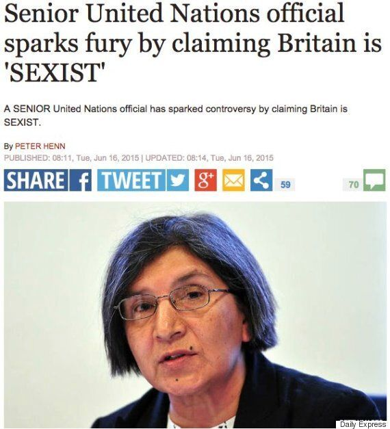 UN Report Condemning UK's Approach To Domestic Violence Condemned By Right-Wing