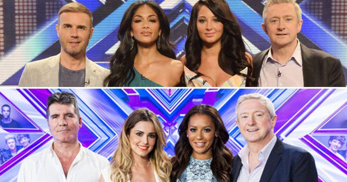 X factor female judges