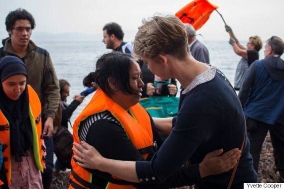 It Is Unacceptable to Stand Aside and Leave Lesbos to Cope With This