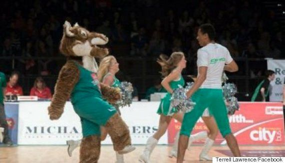 Terrell Lawrence Becomes The UK's First Male Cheerleader In Professional Basketball