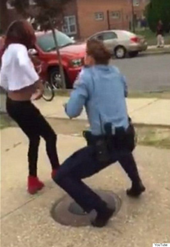 'Whip/Nae Nae' Washington Police Officer Praised After Dance-Off With