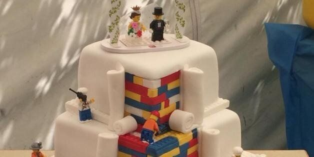 Baker Behind Amazing Lego Cake Forced To Refuse Orders After Photo Goes