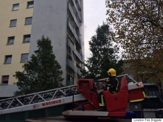 London Fire Brigade Rescues 50 After Adair Tower, Kensington