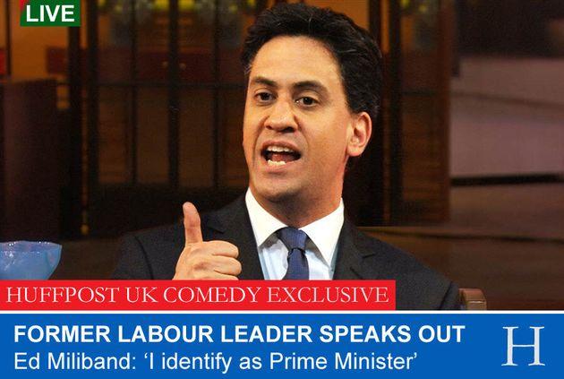 Ed Miliband: 'I Identify As Prime