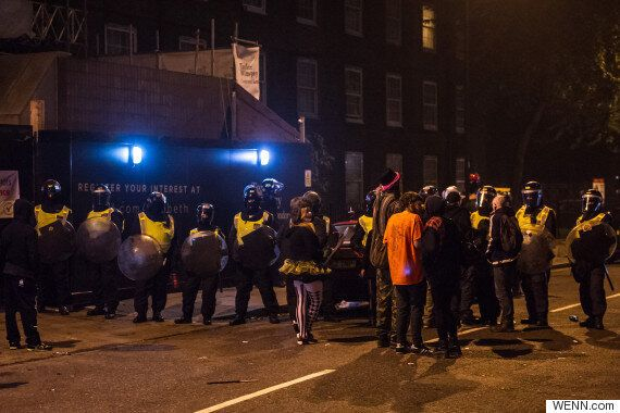 Lambeth Illegal Rave Ends With Riot Police Clashing With Partygoers In London