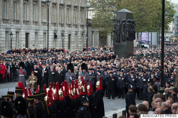 Remembrance Sunday Parades Are Being Scaled Back Or Axed Because Of Police Budget