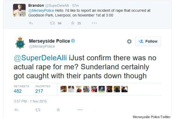Merseyside Police Apologise Over Rape Joke Twitter Exchange And Launch