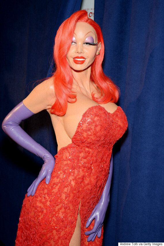 Heidi Klum Won Halloween With Incredible Jessica Rabbit Costume, While Holly Willoughby's Skeleton Is...