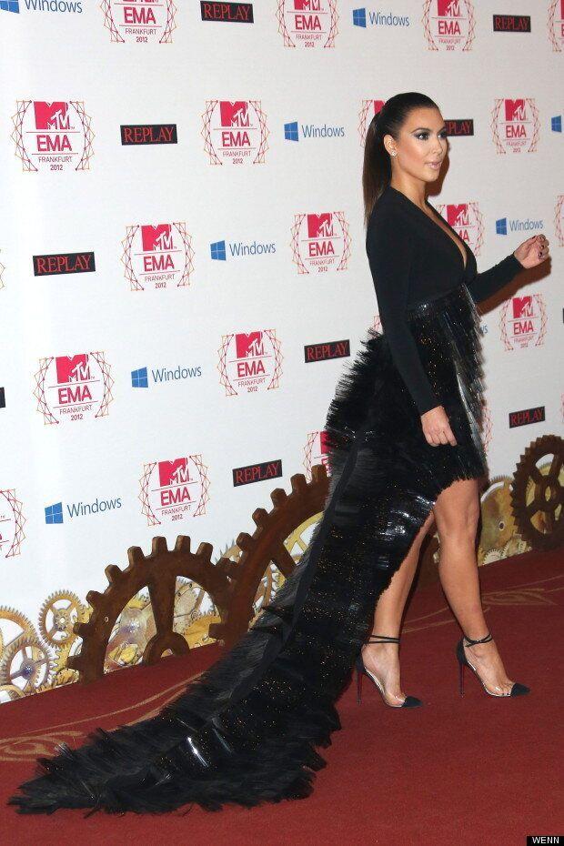 Kim Kardashian Has Major Fashion Fail At MTV EMA Awards