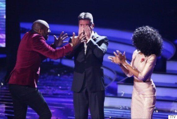 'X Factor' 2015: Simon Cowell Headbutted By Contestant Anton Stephans As He Celebrates Making It Through...