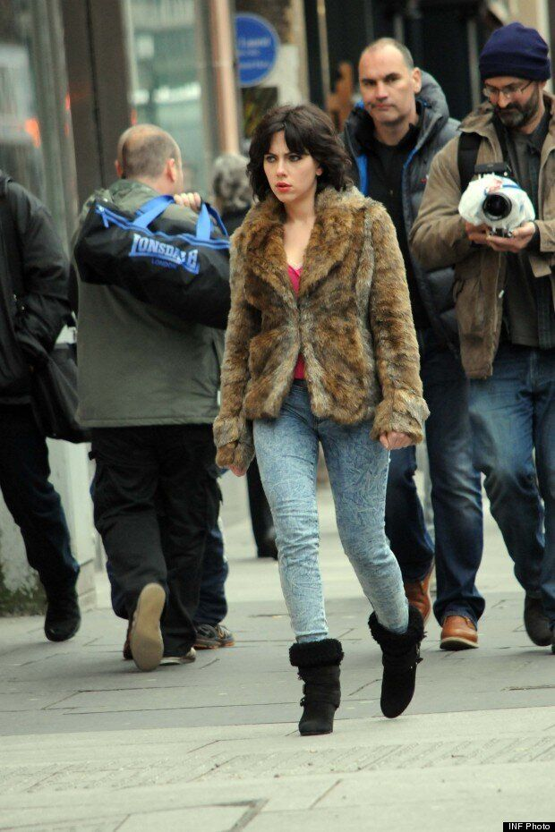 Under The Skin: Scarlett Johansson Is Unrecognisable In Shaggy Wig And Fur